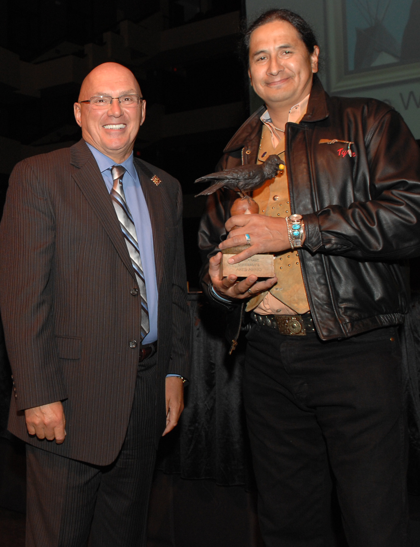 2008 Arts and Learning Recipient - Tyrone W. Tootoosis