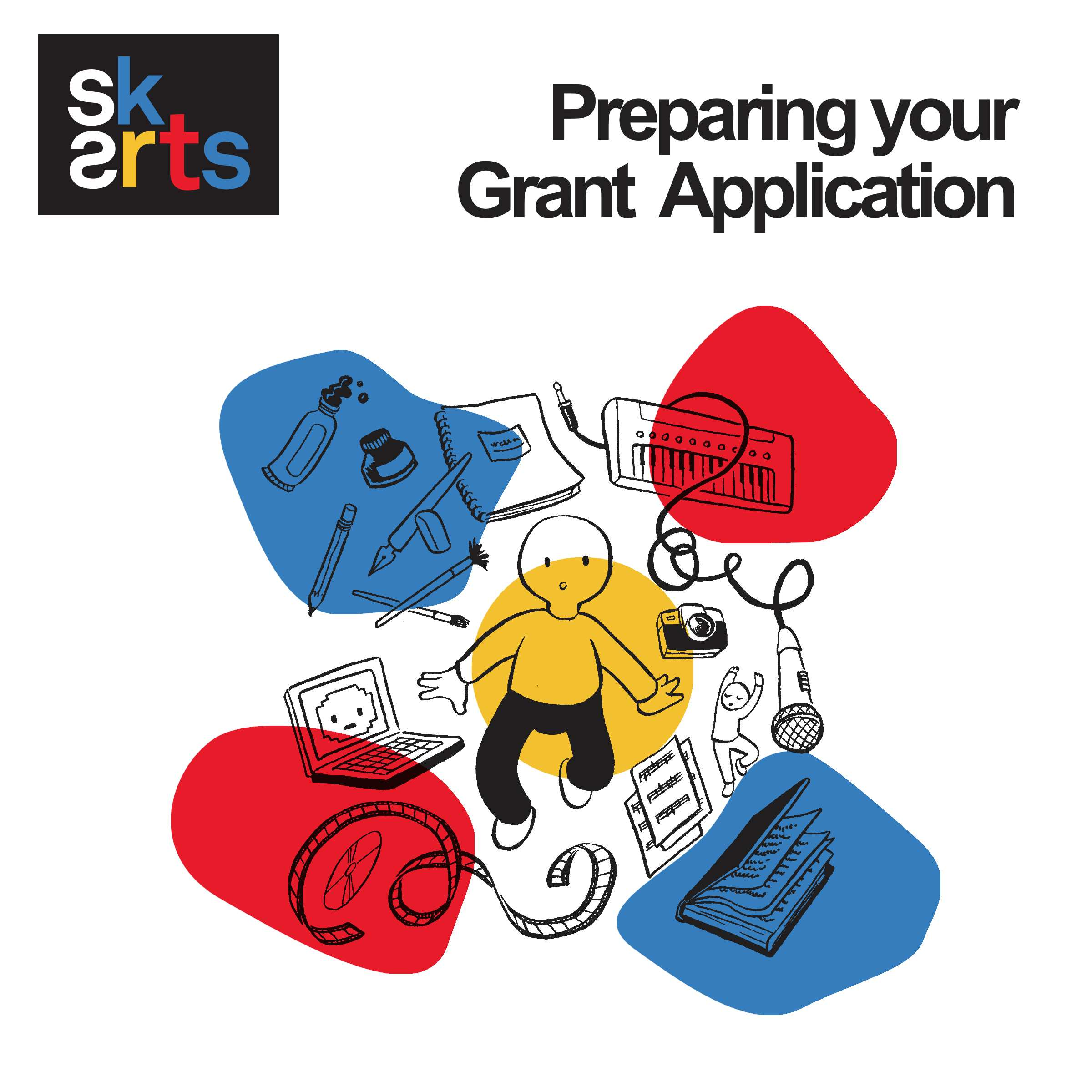 SK ArtsPreparing Your Grant Application Cover 1